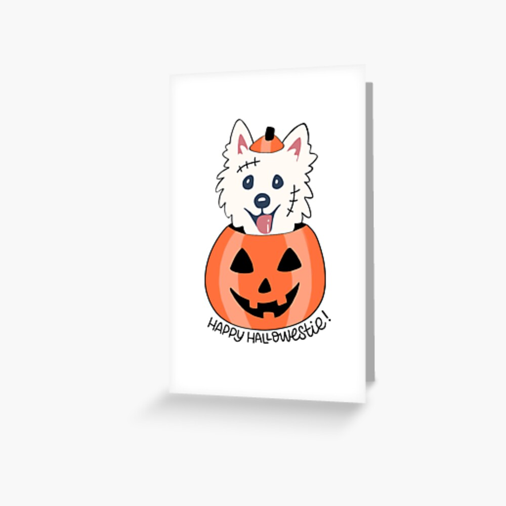 Happy Hallowestie! Greeting Card