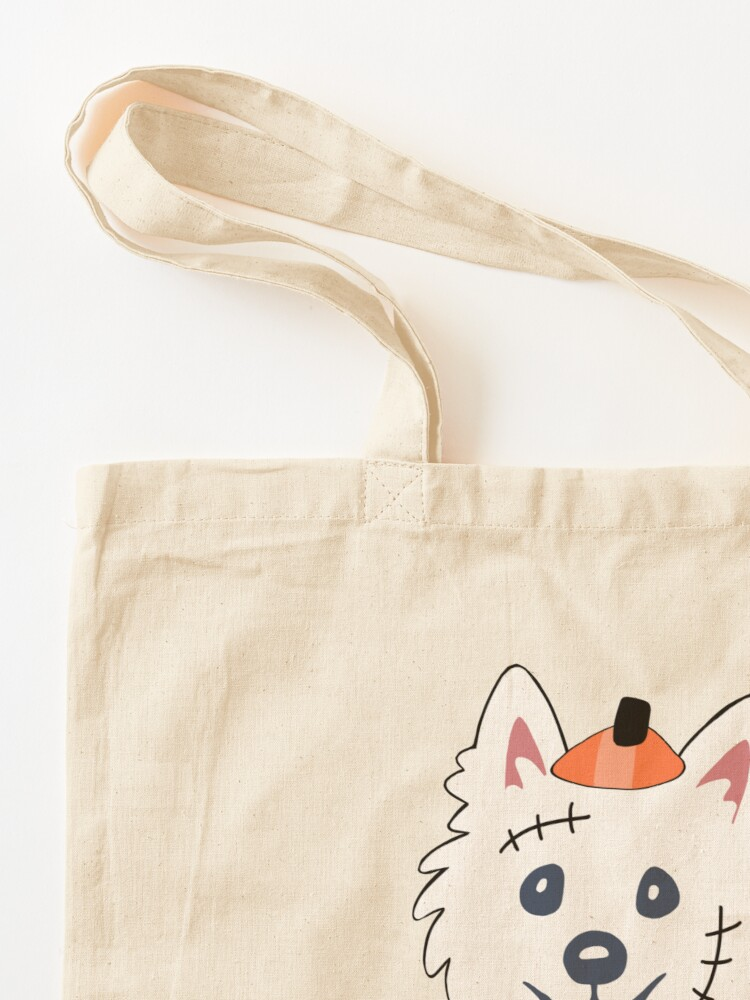 Alternate view of Happy Hallowestie! Tote Bag