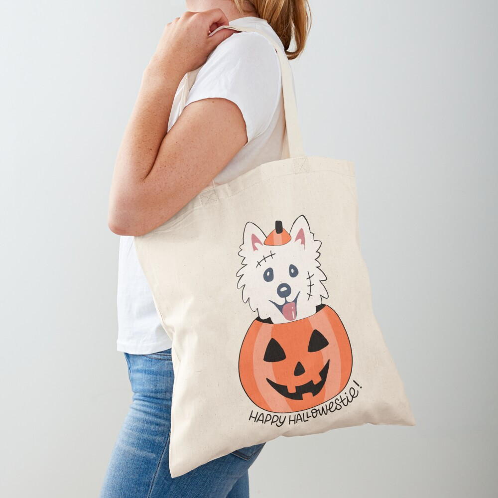 Happy Hallowestie! Tote Bag
