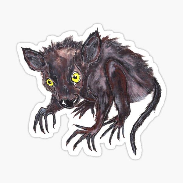 Werewolf baby, the world's cutest pet - Faith and Truth Sticker