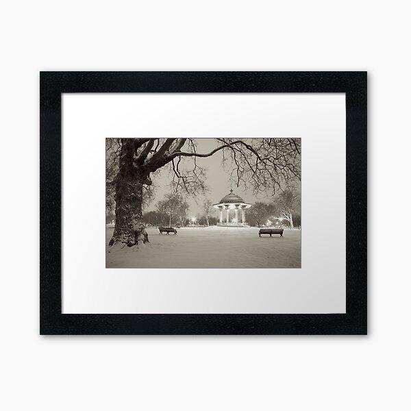 Clapham Common Bandstand #2, London Framed Art Print