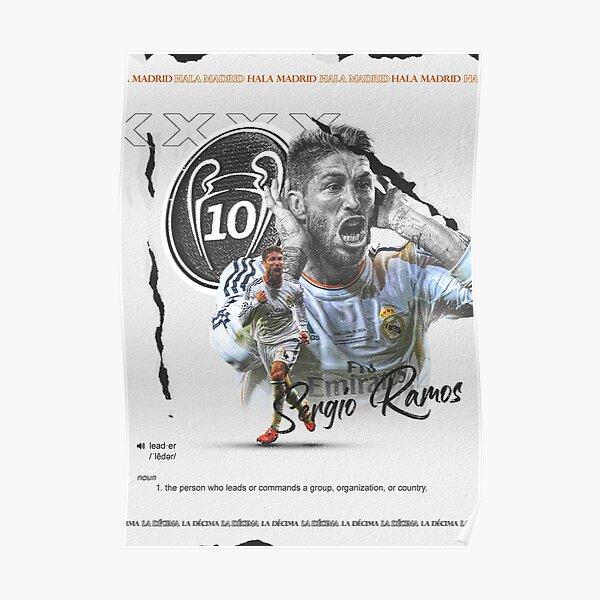 (Affiche) Sergio Ramos 2014. La Décima. Poster
