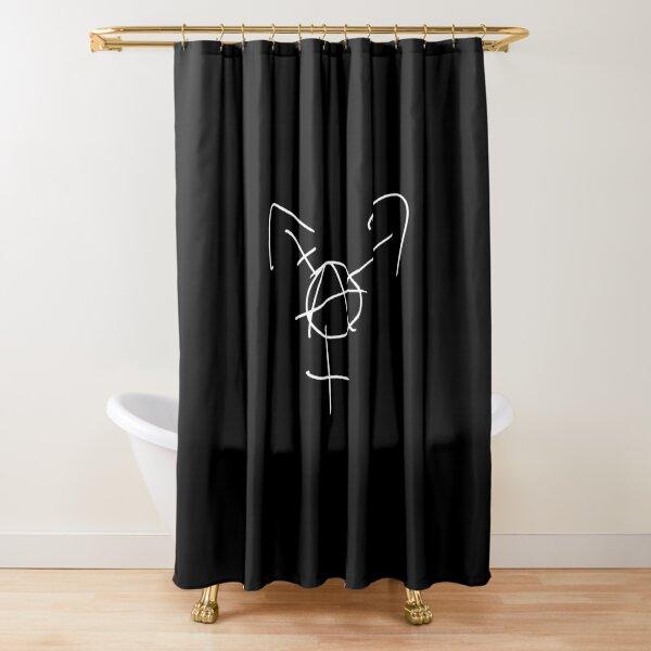 Tranarchy Shower Curtain