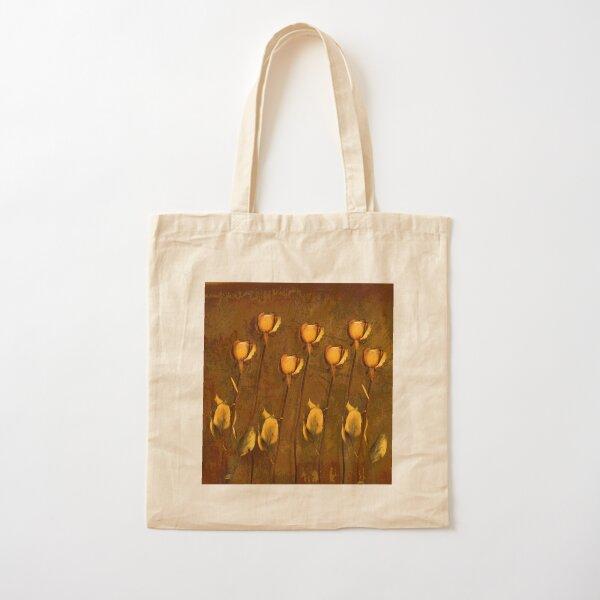 Rose Memories Cotton Tote Bag