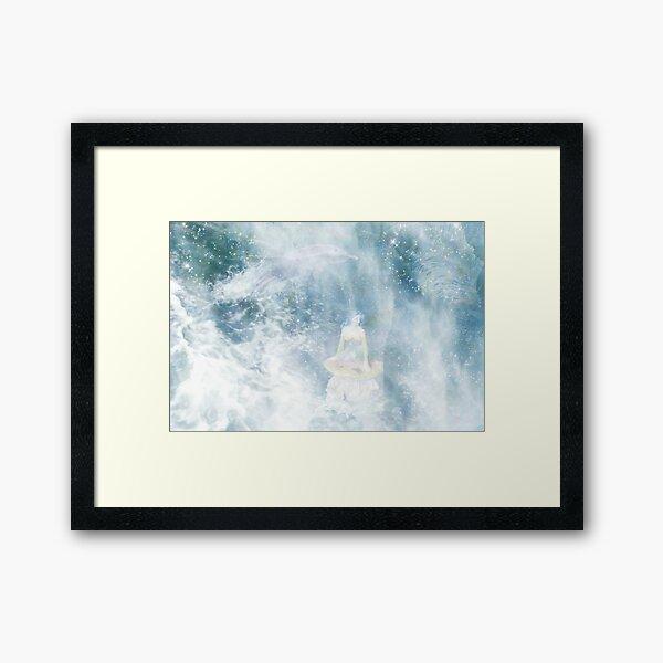 Under the Ocean Framed Art Print