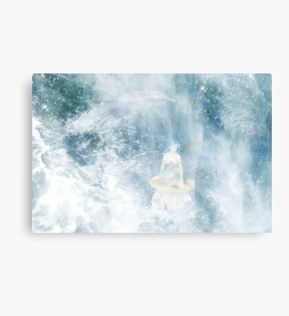 Under the Ocean Canvas Print