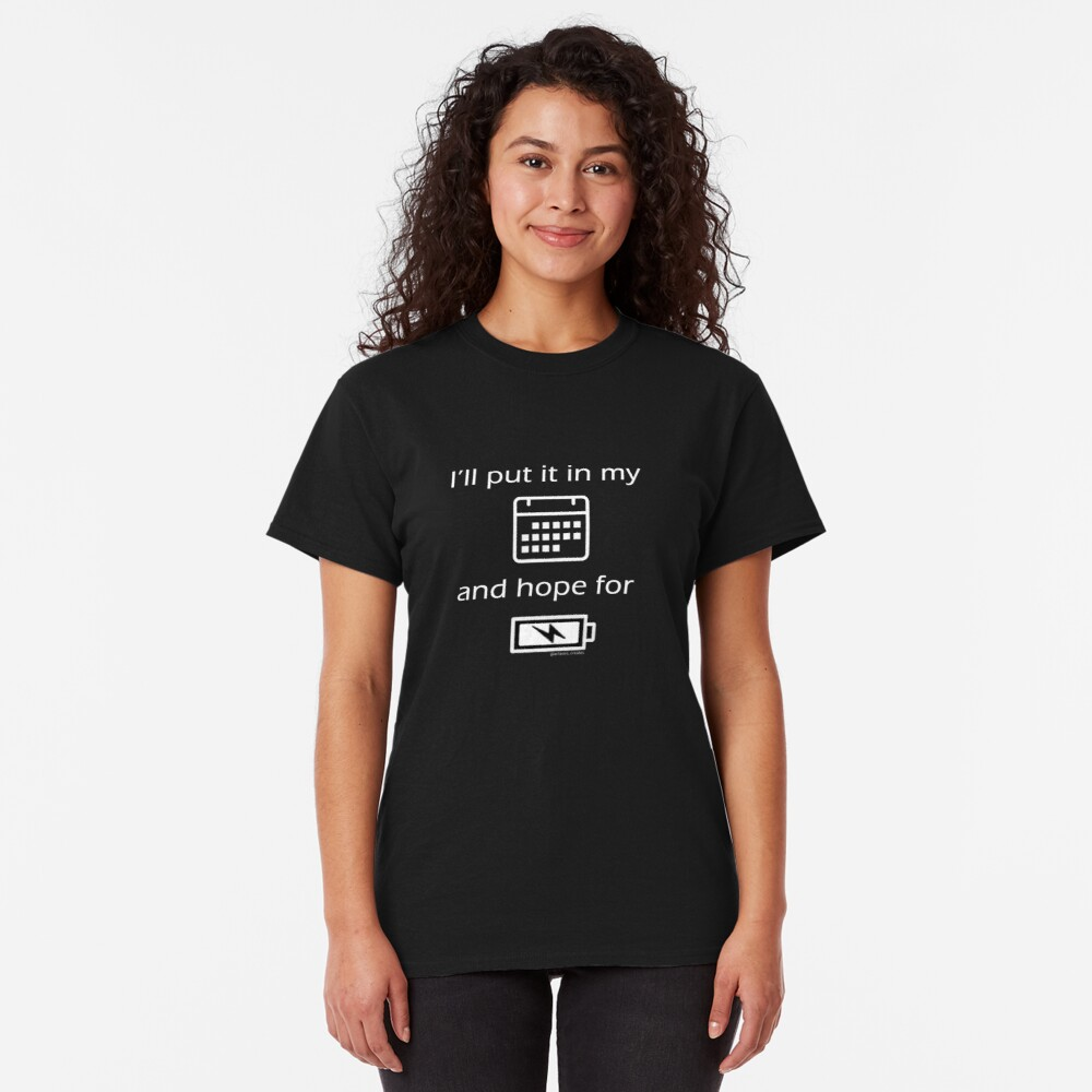 Hope For Energy Classic T-Shirt
