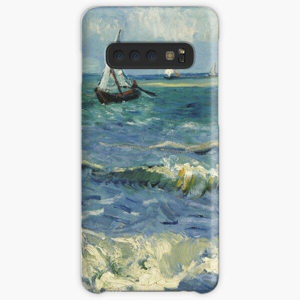 Vincent van Gogh - Seascape near Les Saintes-Maries-de-la-Mer (1888) Samsung Galaxy Snap Case