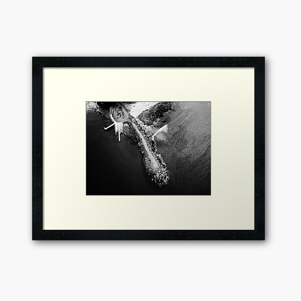 Breakwall Ulladulla Framed Art Print