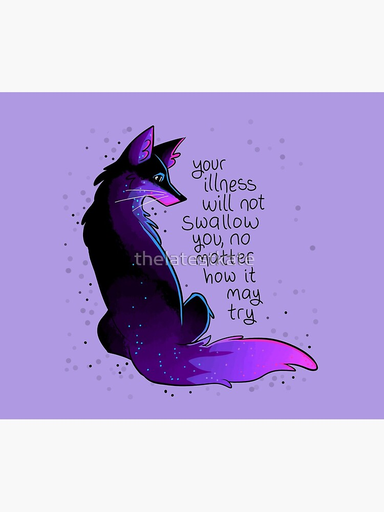 """""""Your Illness Will Not Swallow You"""" Fox by thelatestkate"""