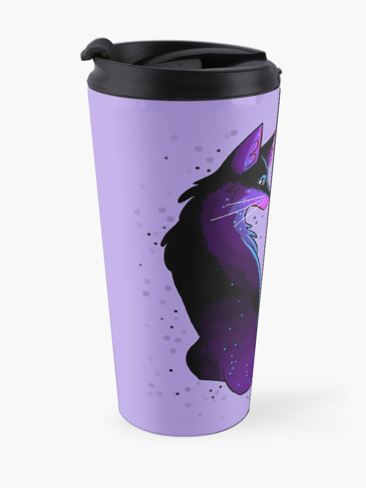 """Alternate view of """"Your Illness Will Not Swallow You"""" Fox Travel Mug"""