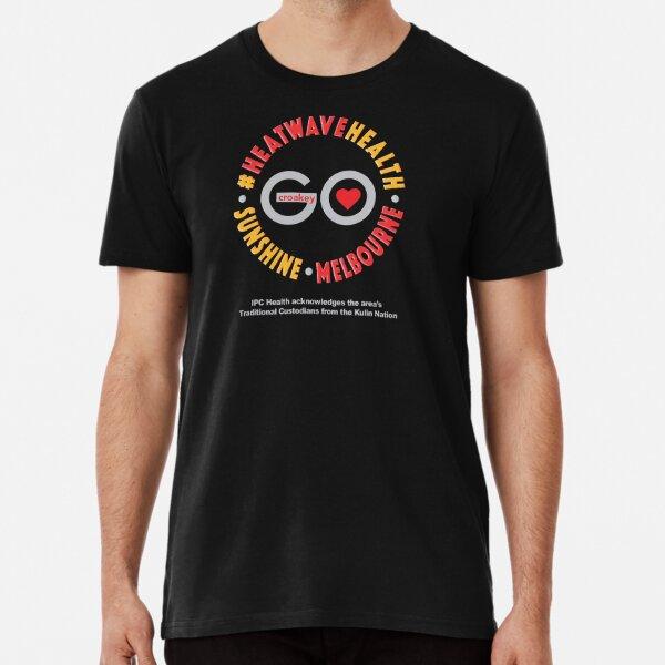 CroakeyGo – #HeatwaveHealth – BlackT Premium T-Shirt