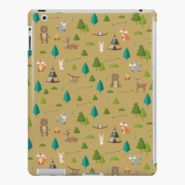 Woodland Friends iPad Snap Case