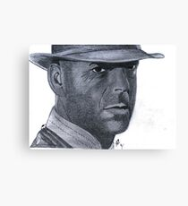 Bruce Willis or Sherlock Home? Canvas Print