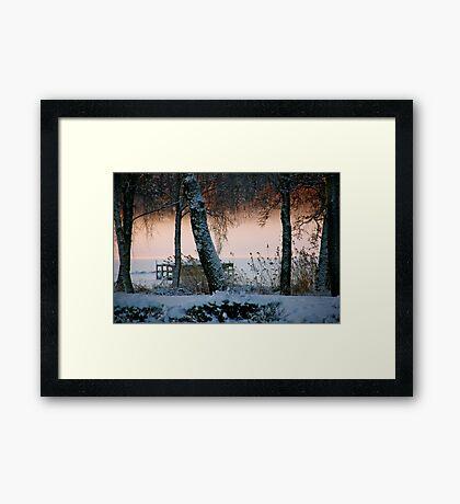 Mists of time Framed Print