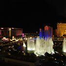 Las Vegas by Night by Neville Gafen