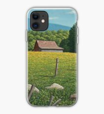 Barn on Elder Hill- Lincoln Vermont iPhone Case