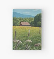 Barn on Elder Hill- Lincoln Vermont Hardcover Journal