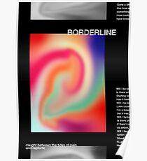 Tame Impala Borderline Poster Poster
