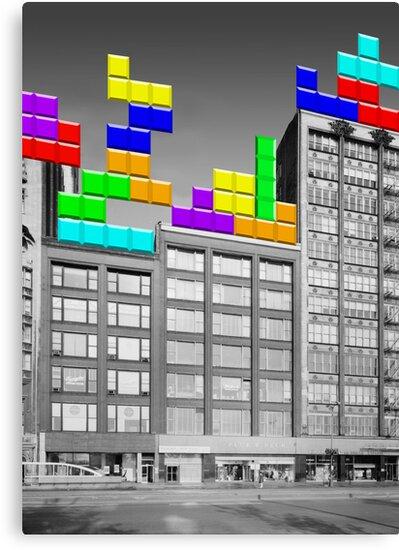 RETRO-Spective: Tetris by eaterofpie