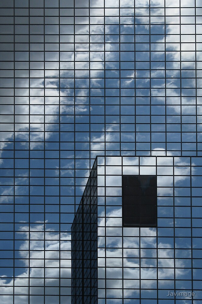 Clouds in the windows by Javimage