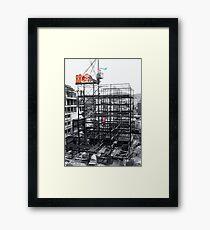 RETRO-Spective: Donkey Kong Framed Print