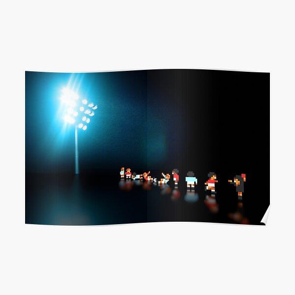 Sensible Soccer - Pixel art Poster