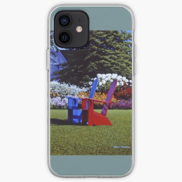 """Reservations For Two"" Reed A Prescott III iPhone Soft Case"