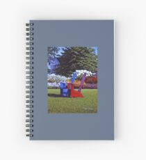 """""""Reservations For Two"""" Reed A Prescott III Spiral Notebook"""