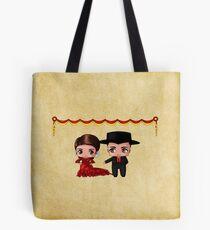 Spanish Chibis Tote Bag