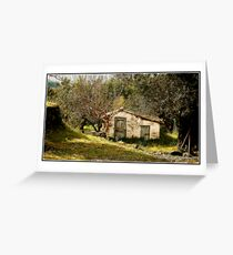 Little Henhouse. Gastouri Corfu Greeting Card