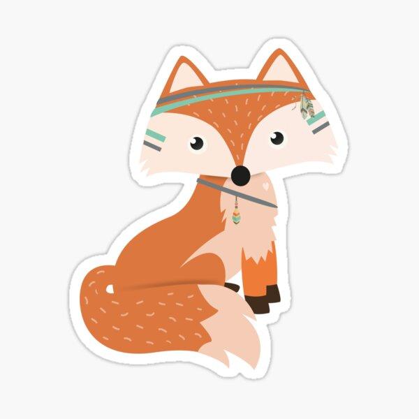 Felix Fox Sticker Sticker
