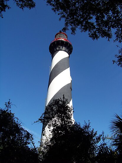 St Augustine Lighthouse by Forget-me-not