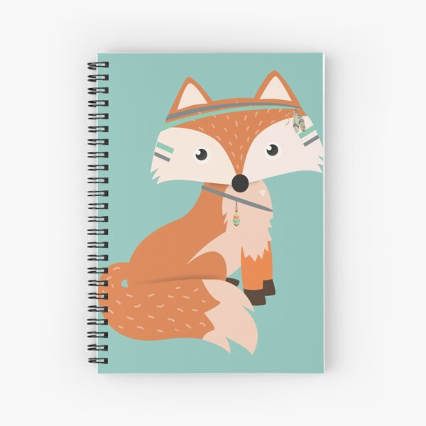 Felix Fox Spiral Notebook