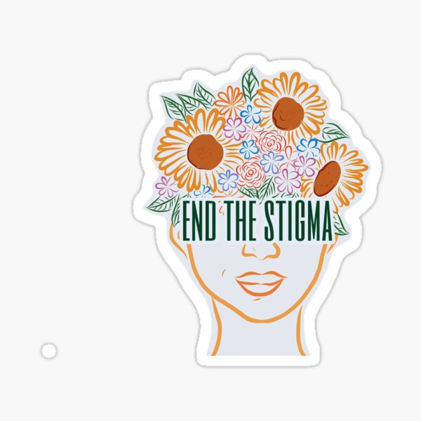 End The Stigma Sticker Sticker