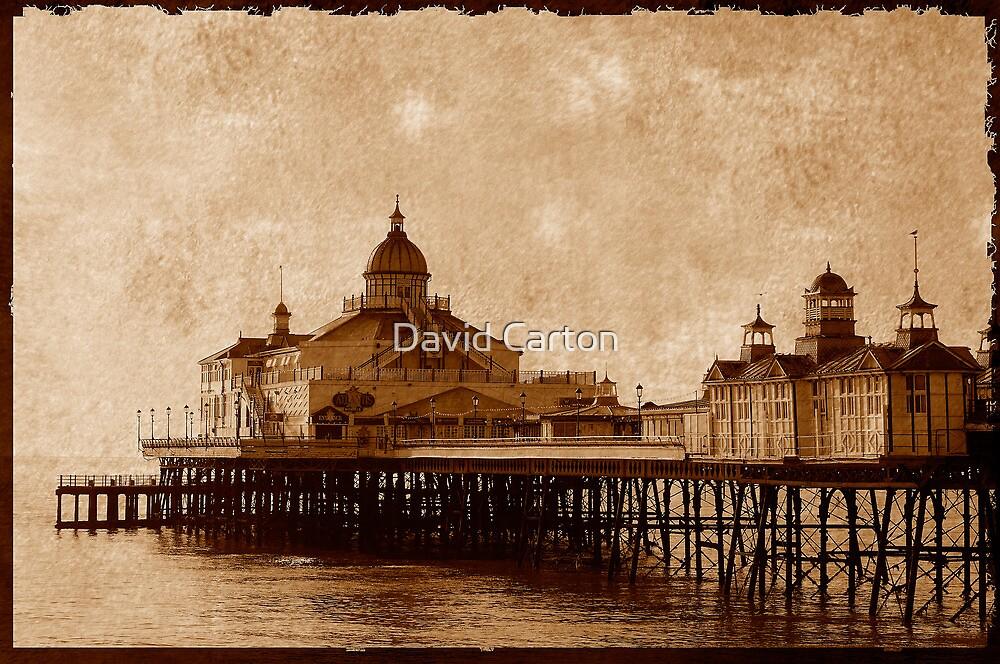 Eastbourne Pier, Sussex, UK by David Carton