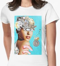 Fleur De Charisma Womens Fitted T-Shirt
