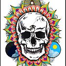 Never Let Them Control You. Sugar Skull by 86248Diamond