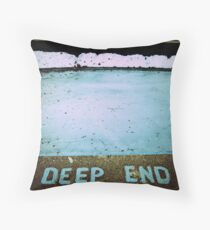 Off the Deep End Throw Pillow