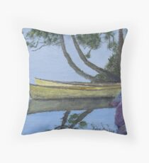 Canoes - Algonquin Park, Ontario, Canada Throw Pillow