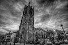 Derby Cathedral B&W by Yhun Suarez