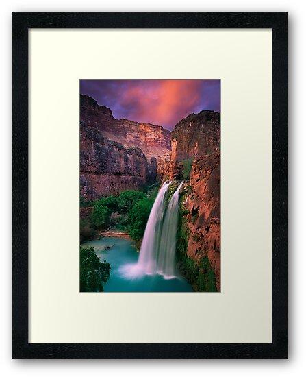 Havasu Falls by Inge Johnsson