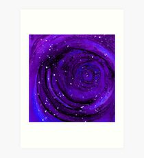 Lost In Space & Time Art Print
