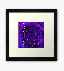 Lost In Space & Time Framed Print
