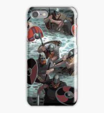 Vikings wading iPhone Case/Skin