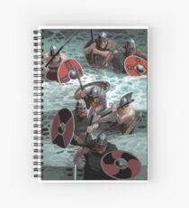 Vikings wading Spiral Notebook