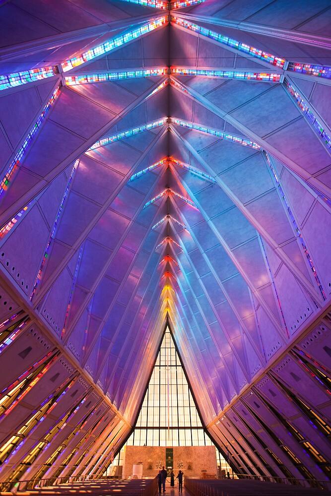USAF Academy - Chapel by Ashpix