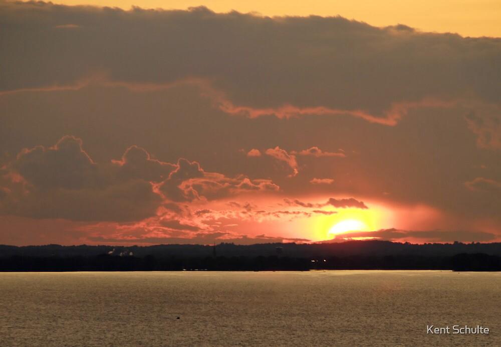 Lake Winnebago Sunset by Kent Schulte