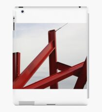 Red Metal iPad Case/Skin