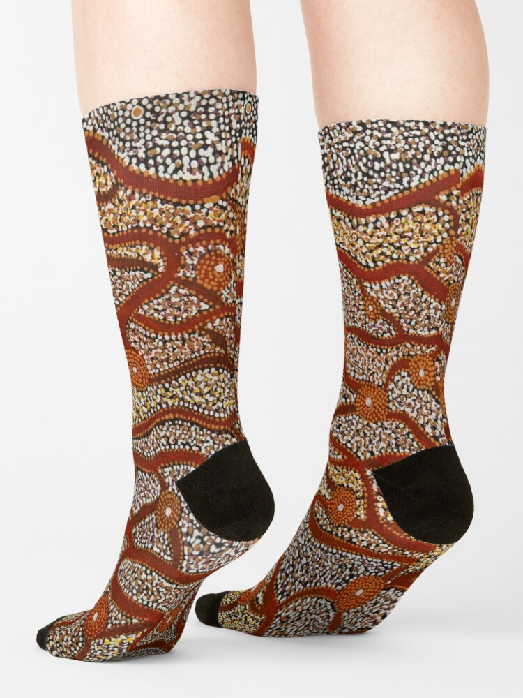 Alternate view of Majestic Mountains Socks